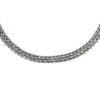 Canggu Silver Chain Necklace by Nusa (Front View)