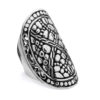 Geger Silver Ring by Nusa (Front View)