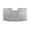 Melasti Silver Cuff by Nusa (Front View)