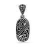 Saba Silver Pendant by Nusa (Front View)