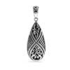 Telaga Silver Pendant by Nusa (Front View)